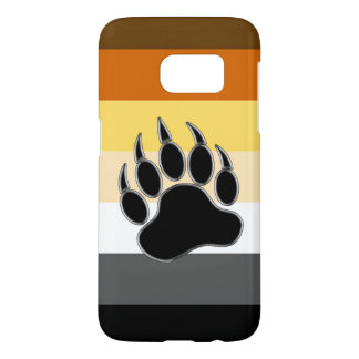 Gay Bear Pride Flag Bear Paw