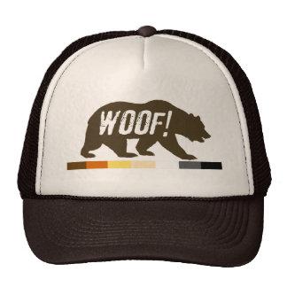 Gay Bear Pride WOOF Cap