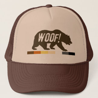 Gay Bear Pride WOOF Trucker Hat