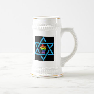 Gay Black Jewish Beer Stein
