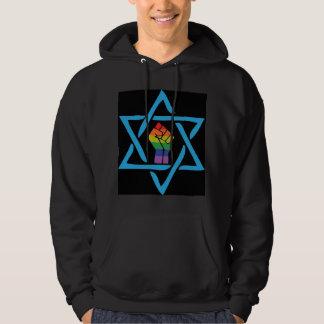Gay Black Jewish Hoodie