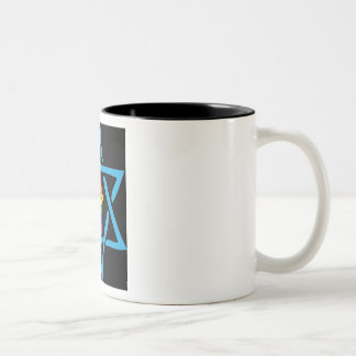 Gay Black Jewish Two-Tone Coffee Mug