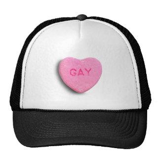 Gay Candy Heart Cap
