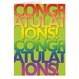 Gay Cards - Congrads 01