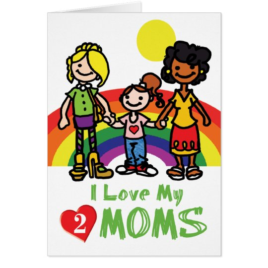GAY Cards - Luv 2 Moms