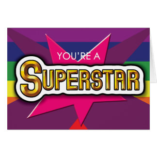Gay Cards - SuperStar