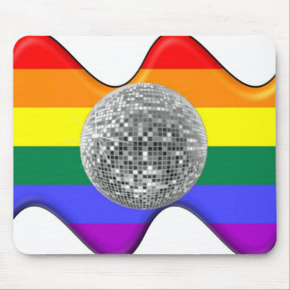 Gay Disco Mouse Pad
