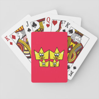 Gay family - Women - Queens - I baralho Letters Playing Cards