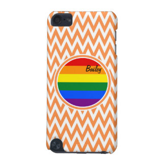 Gay Flag; Orange and White Chevron iPod Touch 5G Covers