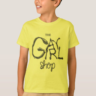 """Gay Girl Shop"" Logo T-Shirt"
