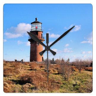 Gay Head Lighthouse, Martha's Vineyard Wall Clock