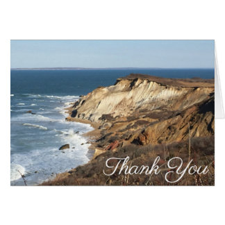 Gay Head Martha's Vineyard Thank You Notes