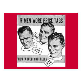 """Gay humor, from the """"Oops Files"""". Postcard"""