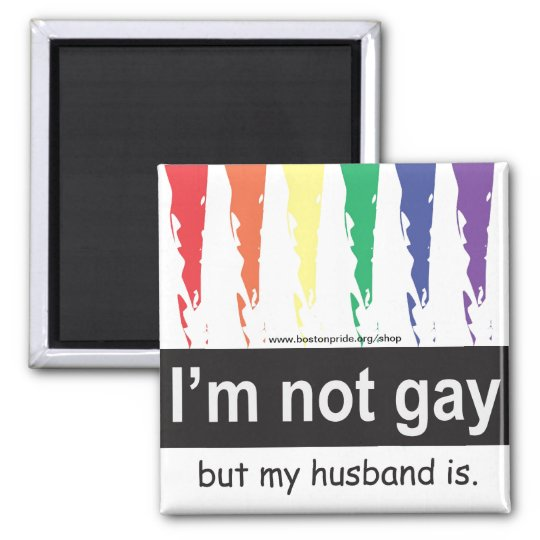 Gay Husband Magnet Square