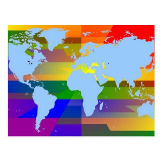 Gay I Am Earth Postcard