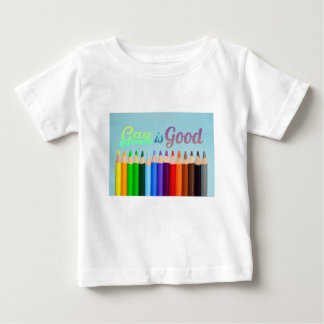 Gay is Good Design Baby T-Shirt