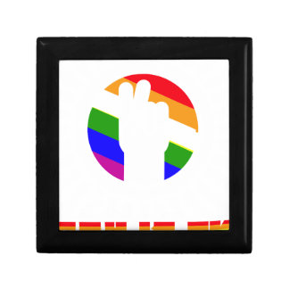 Gay Is OK - LGBT Rights Small Square Gift Box
