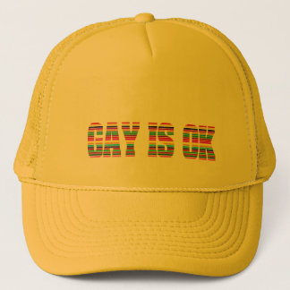 Gay K Trucker Hat