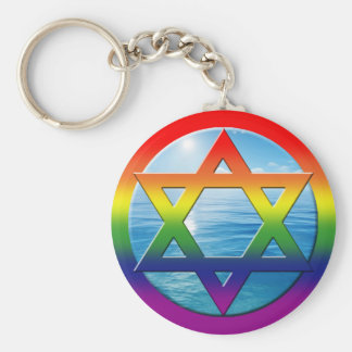 GAY Keychains - Star of David 05