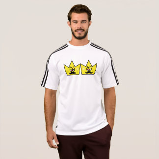 Gay King Crown King Crown Adidas T-Shirt