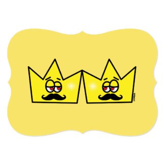 Gay King Crown King Crown Card