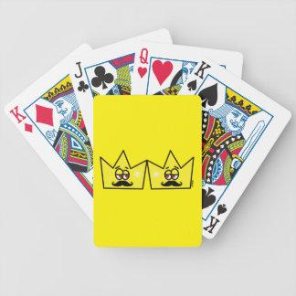 Gay King Rei Crown Coroa Bicycle Playing Cards