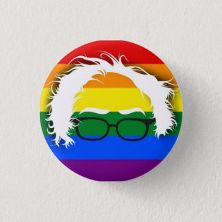 Gay/Lesbian for Bernie Sanders 3 Cm Round Badge