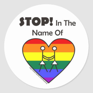 Gay Lesbian Marriage Sticker