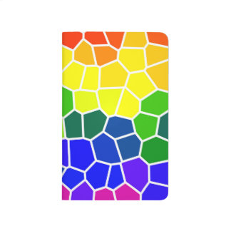 Gay LGBTQ Rainbow Colored Bright Colors Diversity Journal