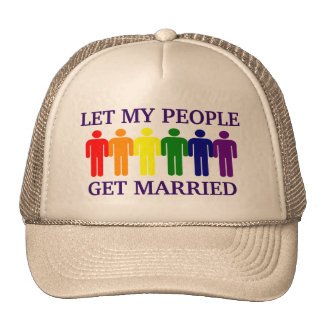 Gay Marriage Support Gay Marriage Trucker Hat