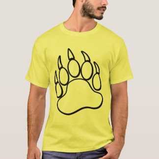 Gay Masculine Bold Bear Paw for Every Color Shirt