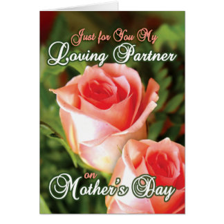 Gay Mothers Day Cards - Loving Partner