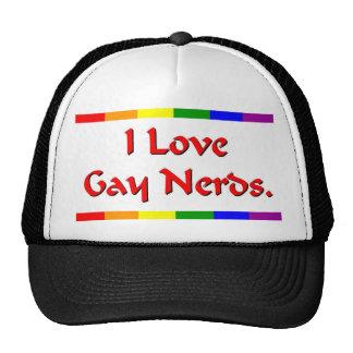Gay Nerd Lover Hats