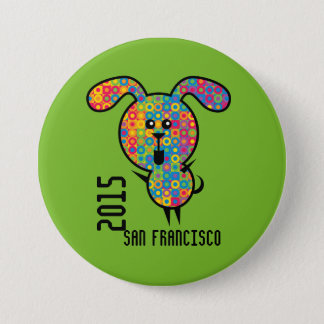 Gay Pride Button 2015