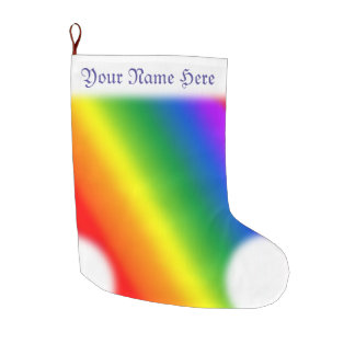 Gay Pride Christmas Stocking Rainbow Stockings