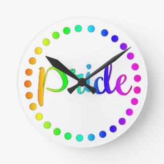 Gay Pride Clock