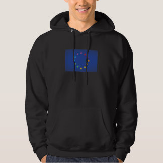 Gay Pride European Union Flag Hoodie