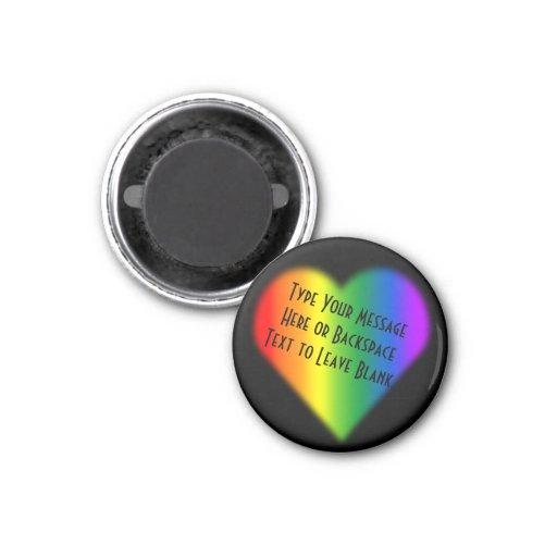 Gay Pride Fridge Magnets Custom Rainbow Love Gift Fridge Magnet