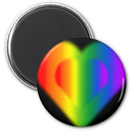 Gay Pride Fridge Magnets Gifts Rainbow Love Magnet Refrigerator Magnet