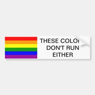 GAY PRIDE, GAY, PRIDE, BUMPER STICKER , PRIDE FLAG