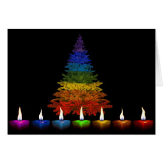 Gay Pride Happy Holidays Card