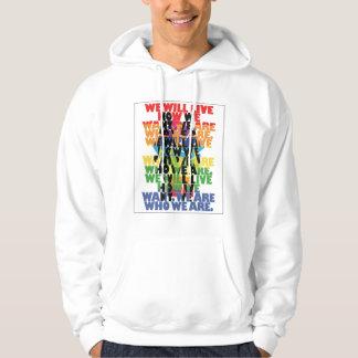 Gay pride hoodie