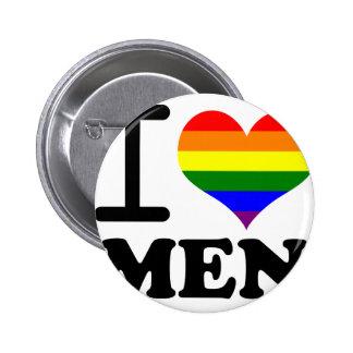 Gay Pride - I love my mate 6 Cm Round Badge