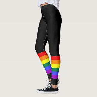 Gay Pride LGBT Colourful Rainbow Leggings