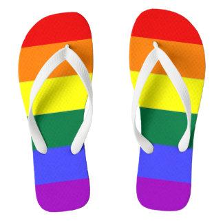 Gay Pride LGBT Rainbow Flag Thongs