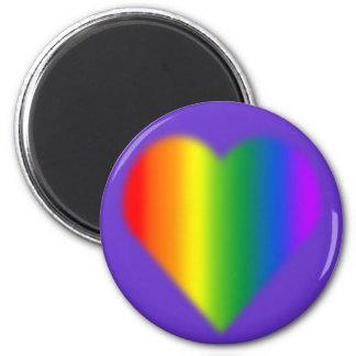 Gay Pride Magnets Rainbow Love Fridge Magnets