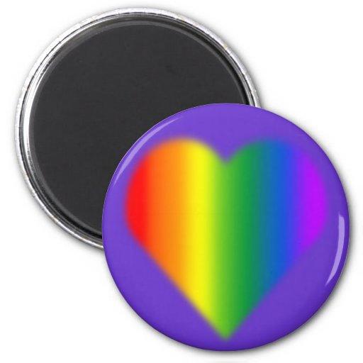 Gay Pride Magnets Rainbow Love Fridge Magnets Fridge Magnets