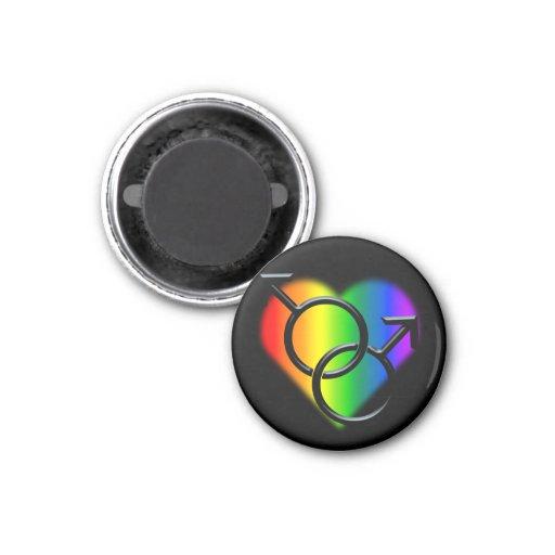 Gay Pride Magnets Same-Sex Man Love Magnet Magnets