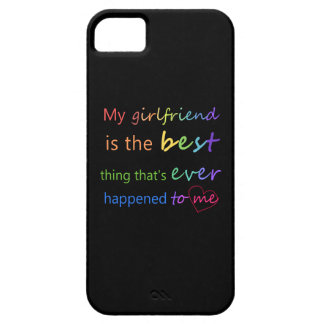 "Gay Pride - ""My girlfriend is"" iPhone 5 Case"