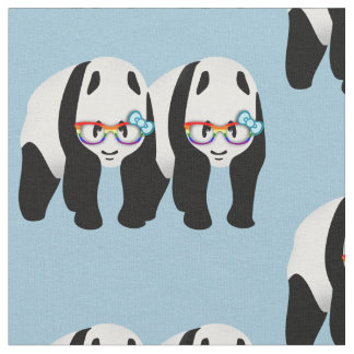 Gay Pride Pandas Fabric